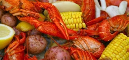 Food from Louisiana Crawfish Company in Natchitoches, LA