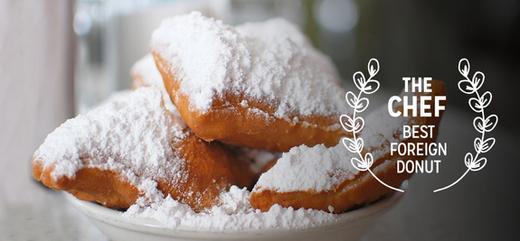 Food from Cafe du Monde in New Orleans, LA