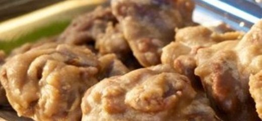 Food from Aunt Sally's Pralines in New Orleans, LA