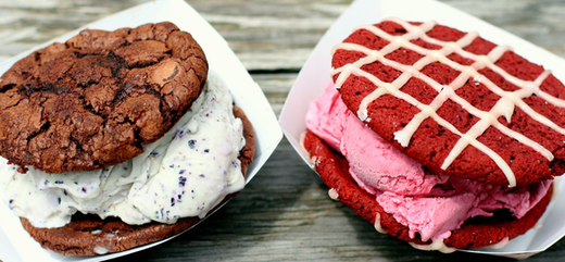 Food from Coolhaus in Los Angeles, CA