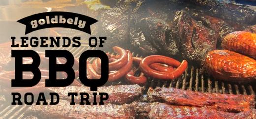 Food from Legends of BBQ Road Trip in Memphis, Carolina, Kansas City, TX