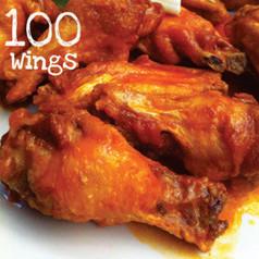 100 Suicide Buffalo Wings