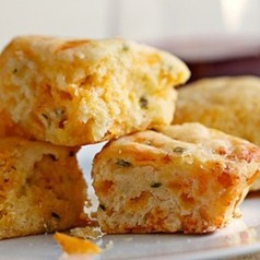 Cheese and Chive Biscuits - 2 dozen
