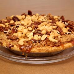 Caramel Nut Apple Pie