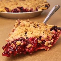 Crumb Michigan 4-Berry Pie