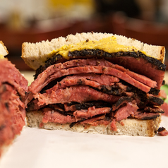 Soup + Pastrami on Rye + Dessert -Feast for 4